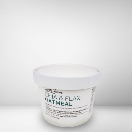 Chia & Flax Oatmeal Cup 1
