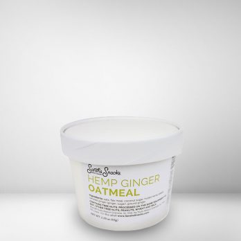 Hemp Ginger Oatmeal Cup