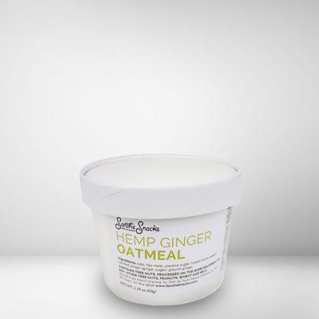 Hemp Ginger Oatmeal Cup 1