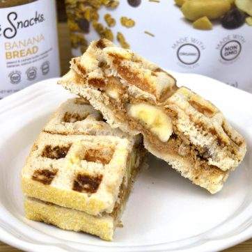 Grilled Banana Wafflewich