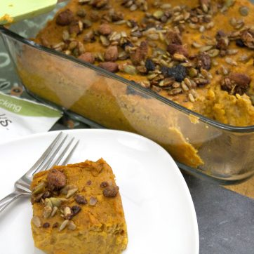 Baked Sweet Potato Casserole | Paleo, Vegan
