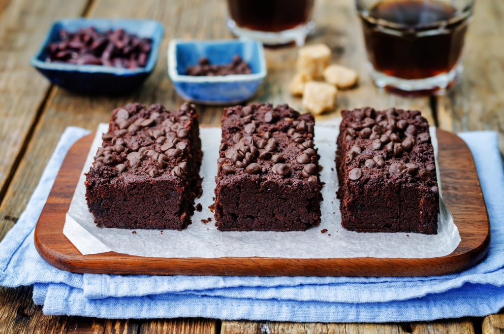 Banana Bread Vegan Brownies