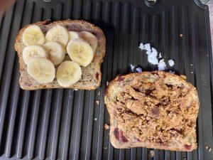 Chocolate Banana Panini 4